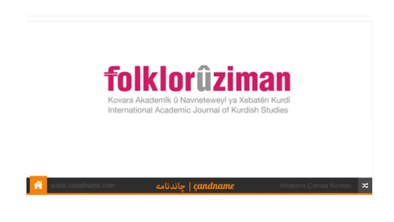 Folkor û Ziman -2- Derket